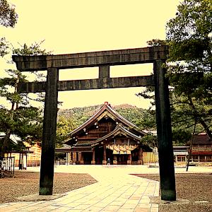 出雲大社拝殿